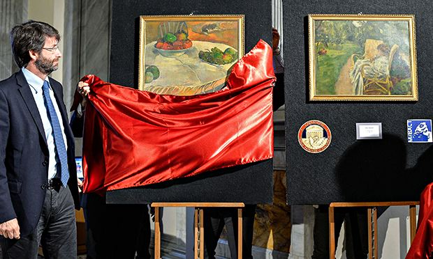 Stolen Gaugin and Bonnard paintings recovered